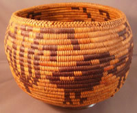 Native American Mission basket