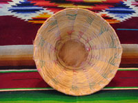 Native American Indian antique Indian baskets, a very rare and unique Seminole basket, c. 1920's. Main photo of the Seminole Indian basket.