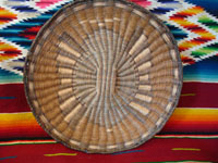Native American basket, Hopi wicker plaque, c. 1930.
