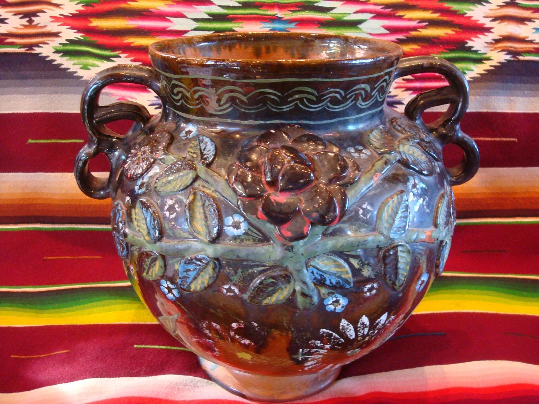 Mexican Vintage Pottery and Ceramics, Pottery from Tonala ...