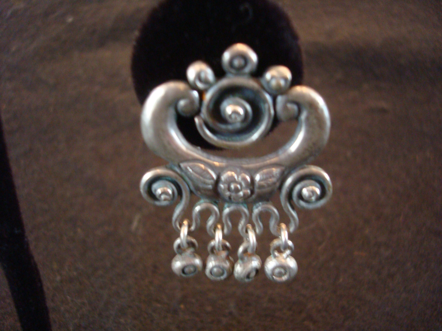 Mexican Vintage Sterling Silver Jewelry And Taxco Vintage