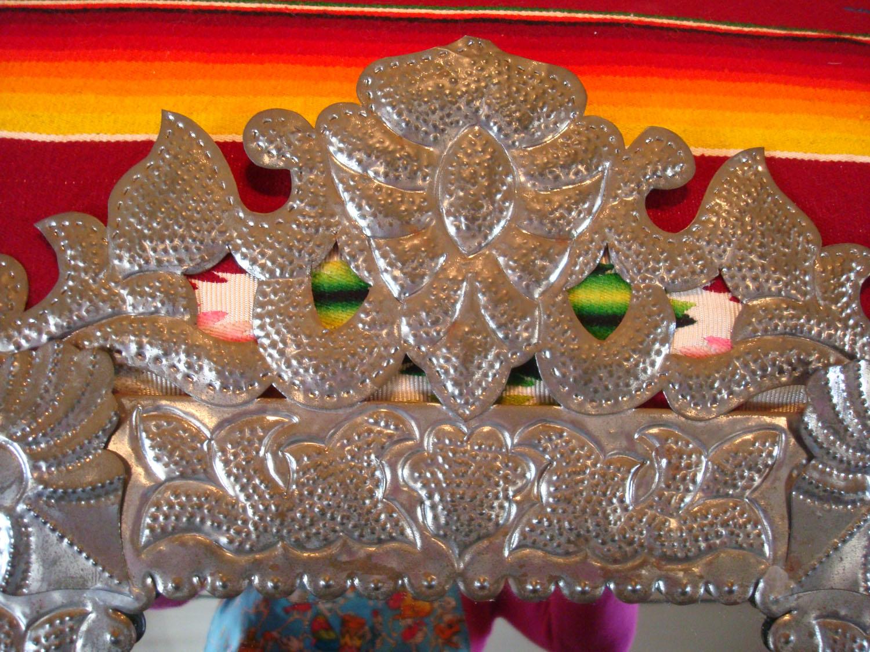 Mexican Tin Work Art Mexican Tin Candelabras And Tin
